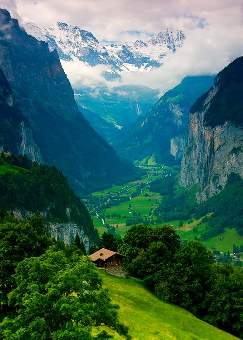 Majestic, Lauterbrunnen Valley, Switzerland