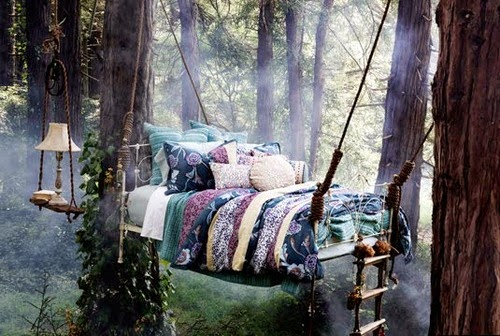 Forest Tree Bed, United Kingdom